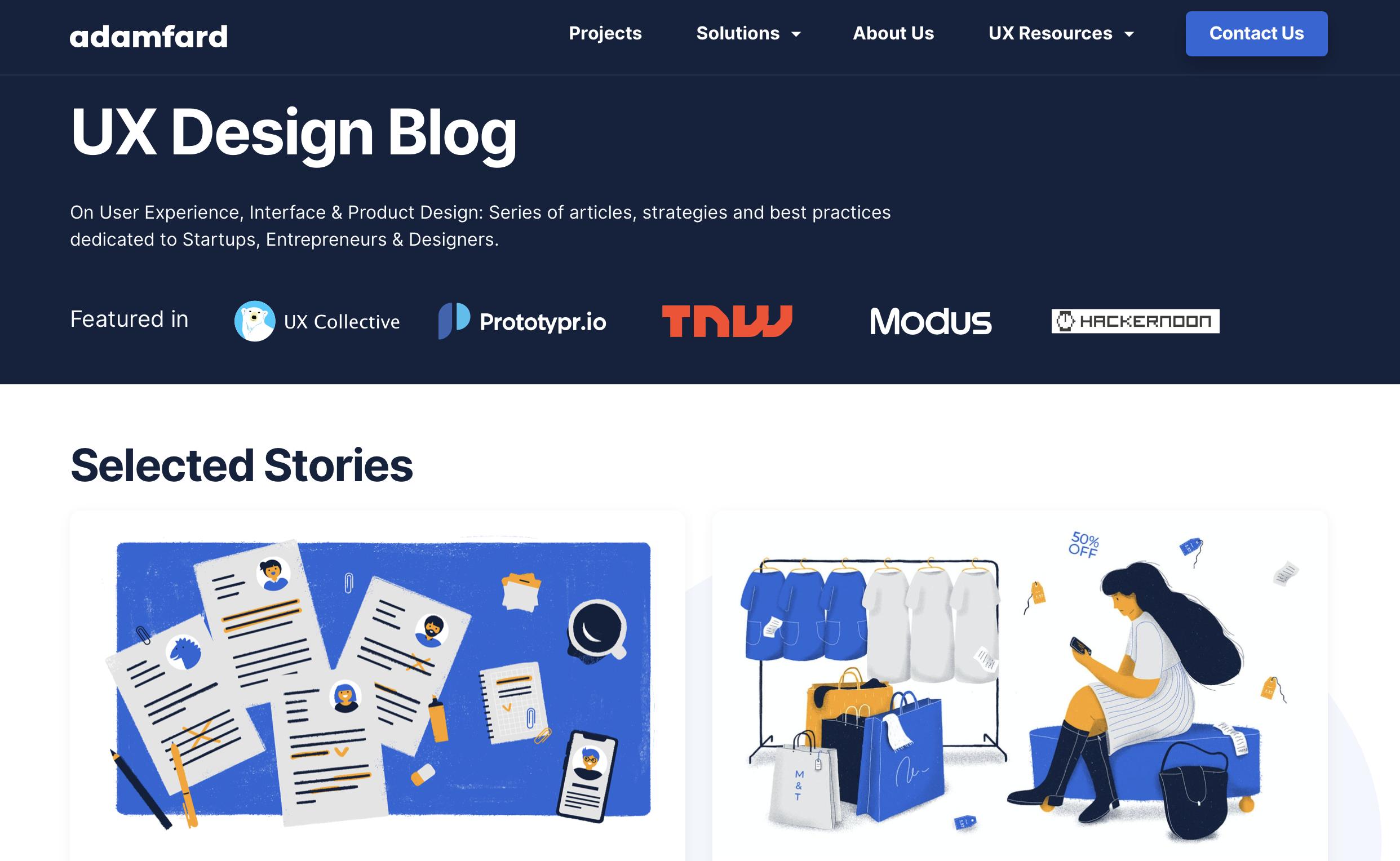 UX Design Blog