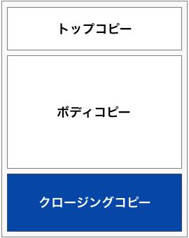 ランディングページクロージングコピー