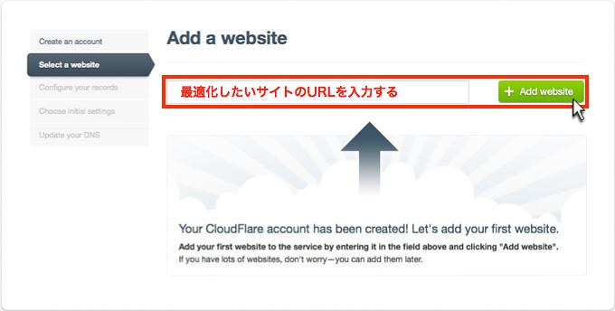 Add website