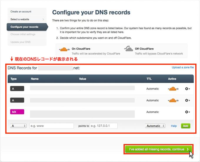configure your DNS records