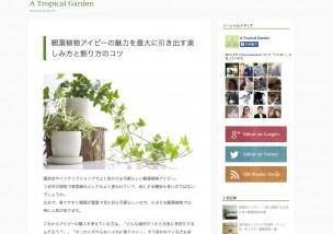 A Tropical Garden(1)