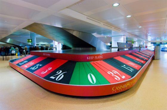 カジノ風ターンテーブル